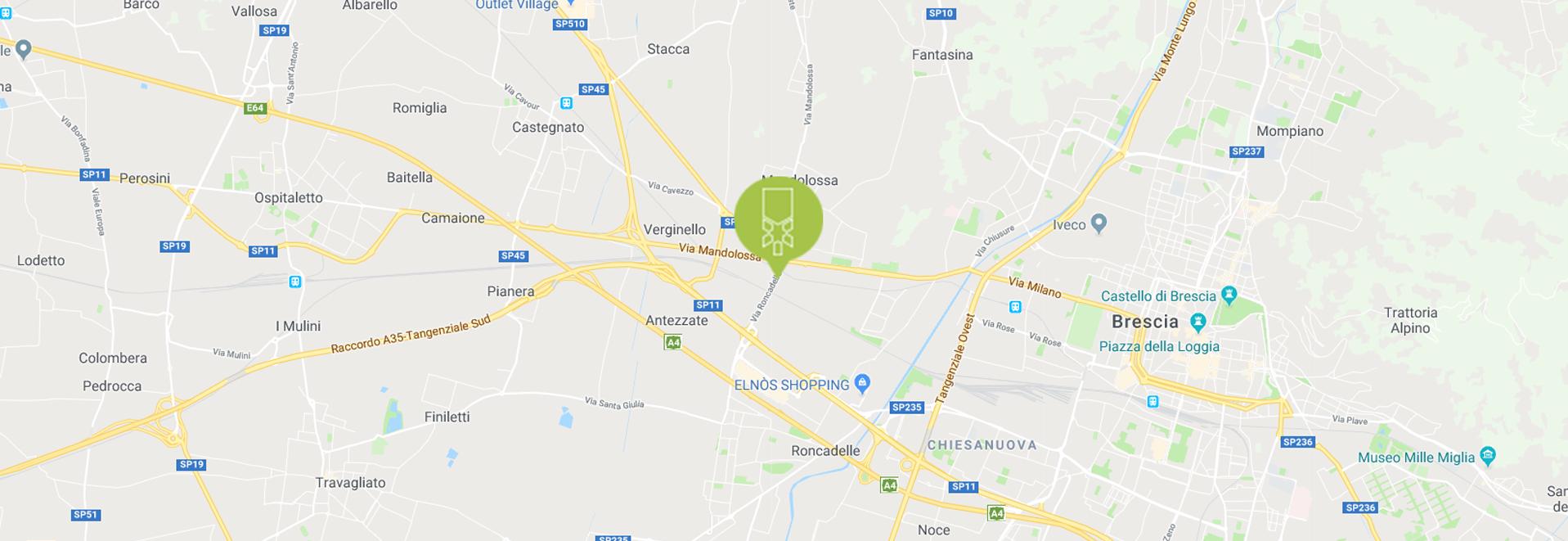 Mappa stradale - Stea S.r.l. Brescia