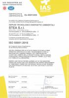 Stea certificazione ISO 5001:2018
